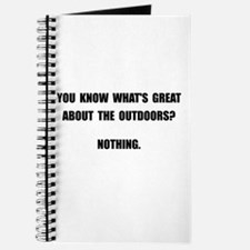 Outdoors Nothing Journal