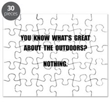 Outdoors Nothing Puzzle