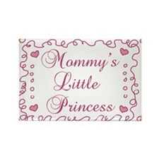 Mommys Little Princess Rectangle Magnet