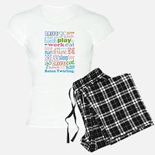 Baton Twirling pajamas