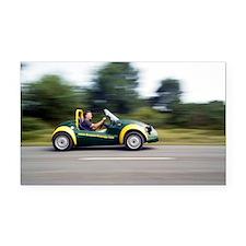 Jester electric car - Car Magnet