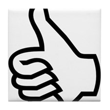Thumbs Up Tile Coaster