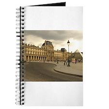 Cloudy Louvre Journal