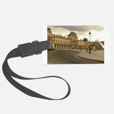 Cloudy Louvre Luggage Tag