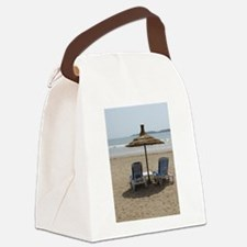 Moroccan Beach Canvas Lunch Bag