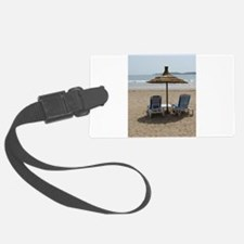 Moroccan Beach Luggage Tag