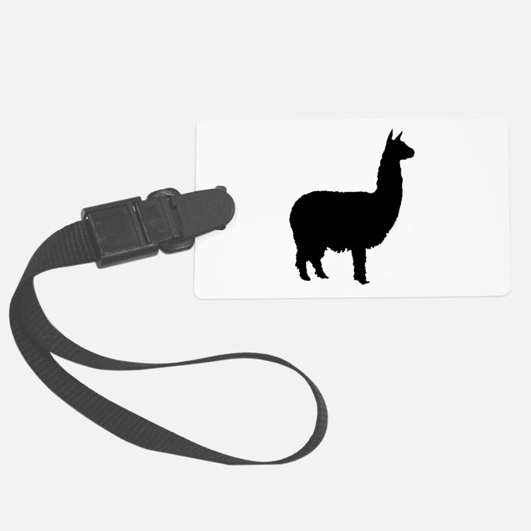 alpaca 22 black.png Luggage Tag