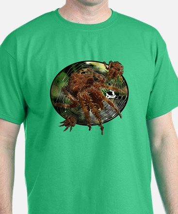 Cat face spider T-Shirt
