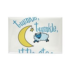 Twinkle Little Star Rectangle Magnet