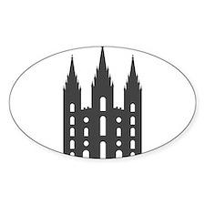 Salt Lake Temple Decal