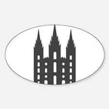 Salt Lake Temple Decal