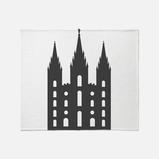 Salt Lake Temple Throw Blanket