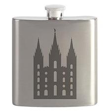 Salt Lake Temple Flask