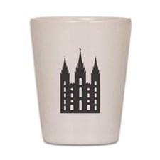 Salt Lake Temple Shot Glass