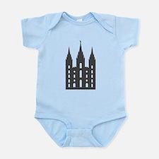 Salt Lake Temple Infant Bodysuit