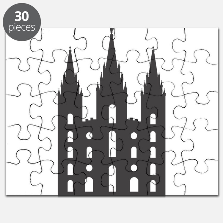Salt Lake Temple Puzzle
