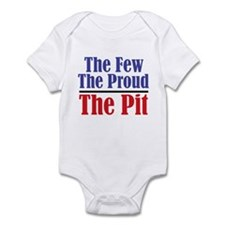The Few. The Proud. The Pit. Infant Bodysuit