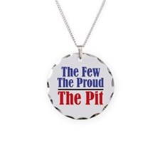The Few. The Proud. The Pit. Necklace