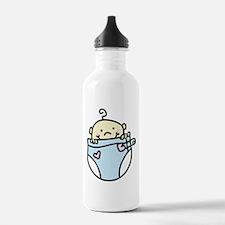 Baby In Diaper Water Bottle
