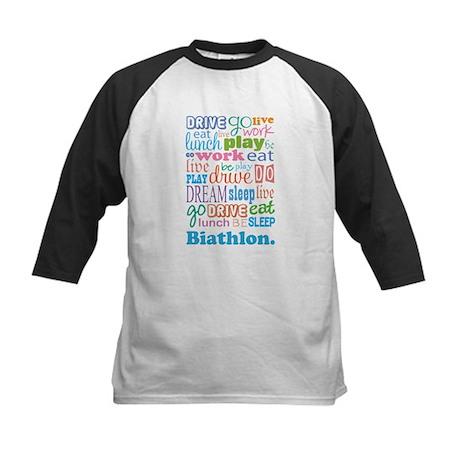 Biathlon Kids Baseball Jersey