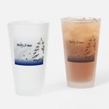 Unique Christmas Wishes Drinking Glass