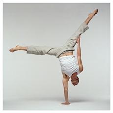 Yoga pose Poster