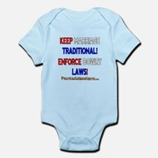 ENFORCE DOWRY LWS! Infant Bodysuit