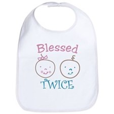 Blessed Twice Bib
