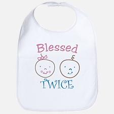 Blessed Twice Bib