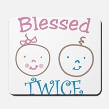 Blessed Twice Mousepad