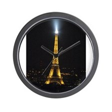 Paris with Vicki 013.jpg Wall Clock