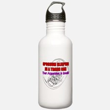 Argument Invalidation Opossum Water Bottle
