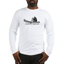 Bigfoot Paddles Long Sleeve T-Shirt