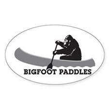Bigfoot Paddles Decal