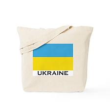 Ukraine Flag Merchandise Tote Bag