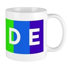 Gay Pride Car Bumper Magnet Mug