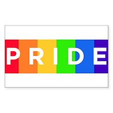 Gay Pride Car Bumper Magnet Stickers