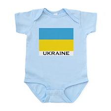 Ukraine Flag Merchandise Infant Creeper