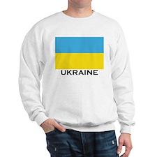 Ukraine Flag Merchandise Sweatshirt