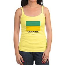 Ukraine Flag Merchandise Ladies Top