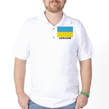 Ukraine Flag Merchandise T-Shirt