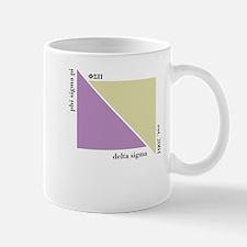Delta Sigma Triangles Mug