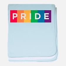 Gay Pride baby blanket