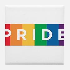 Gay Pride Tile Coaster
