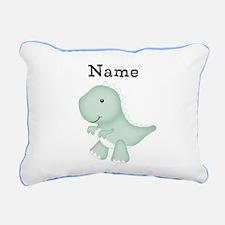 Personalizable T Rex Pillow