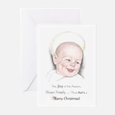 Unique Baby jesus Greeting Cards (Pk of 10)