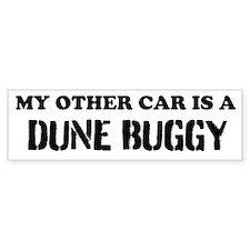 Dune Buggy (bumper) Bumper Bumper Sticker