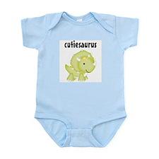 Cutiesaurus Baby Bodysuit