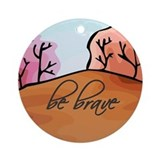 Inspirational Round Ornaments