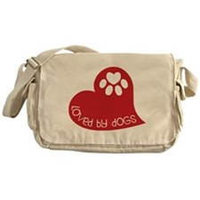 Loved By Dogs Messenger Bag